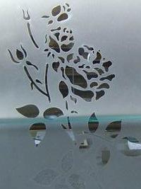 sandstrahlen von glasfl chen vom gro handel f r farbglas. Black Bedroom Furniture Sets. Home Design Ideas