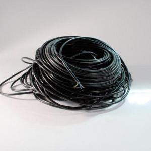 kabel kunststoff schwarz lfm lampenzubeh r elektro vom gro handel f r farbglas strukturglas. Black Bedroom Furniture Sets. Home Design Ideas